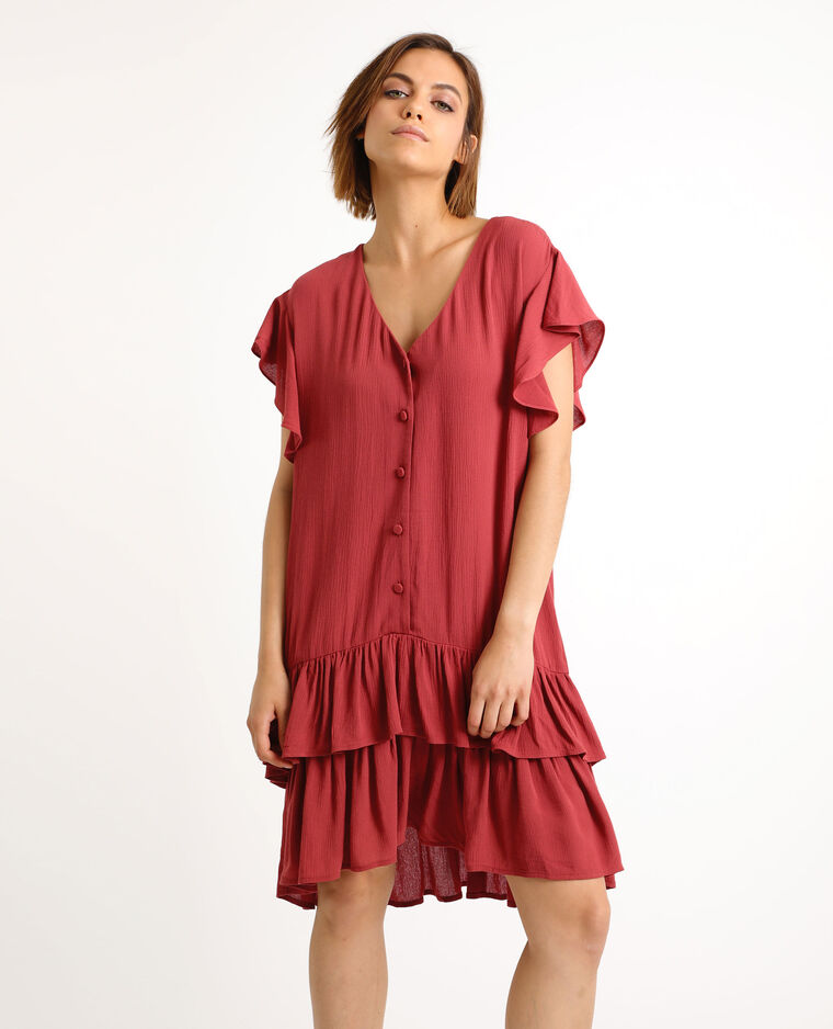 Robe bordeaux