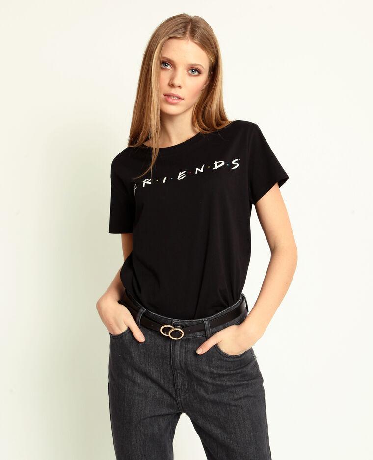 T-shirt FRIENDS noir