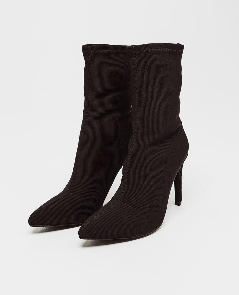 Boots à talons aiguilles noir
