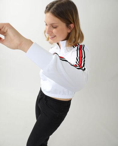 Veste de jogging blanc - Pimkie