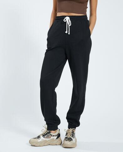 Pantalon molleton noir - Pimkie