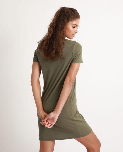 T-shirtjurk groen