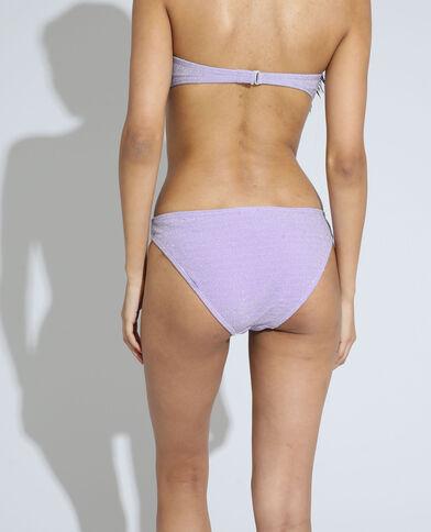 Bikinislip met glitters violet - Pimkie