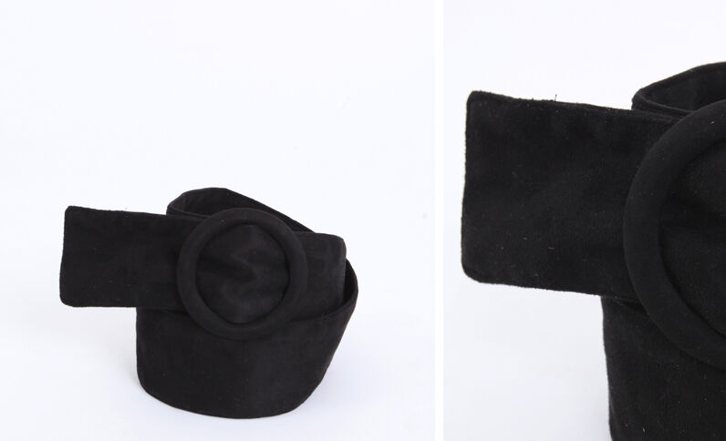 Ceinture large noir