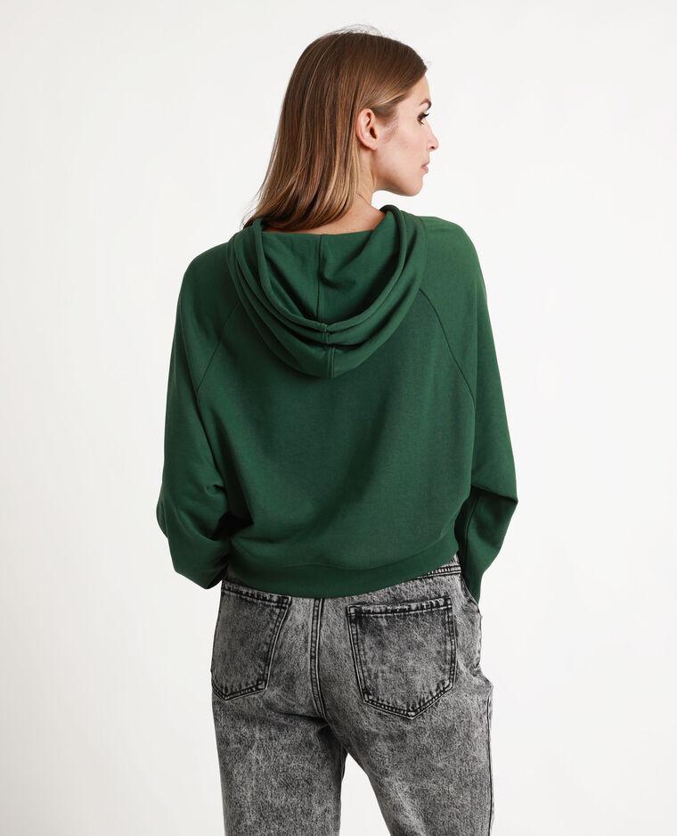 Cropped sweat vert