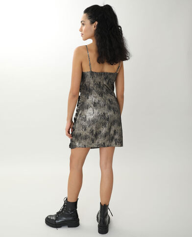 Korte jurk zwart