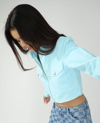 Jeansvestje denimblauw - Pimkie