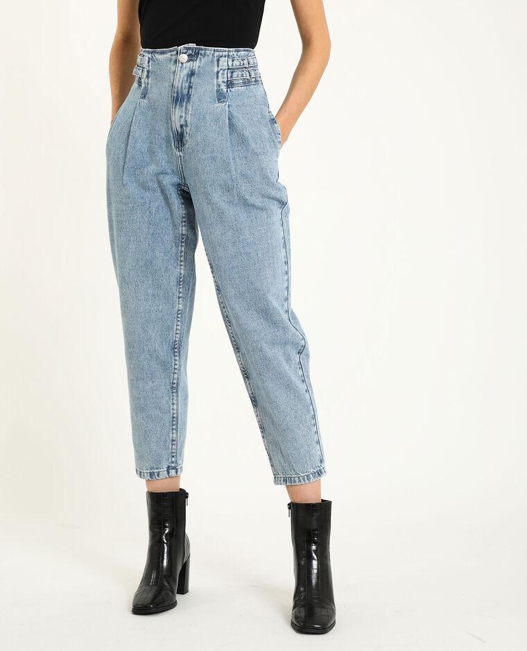 Slouchy jeans denimblauw - Pimkie