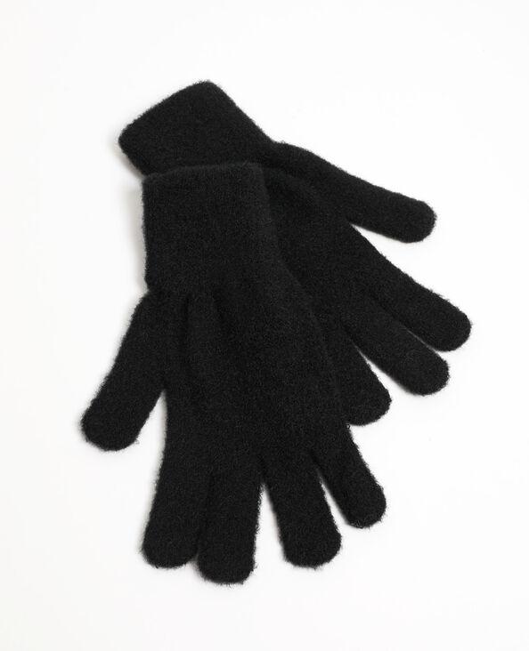 Effen handschoenen zwart