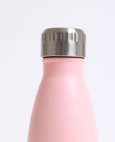 Gourde en aluminium rose