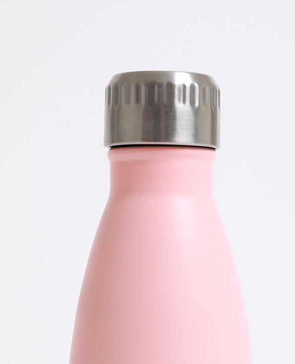 Aluminium drinkfles roze