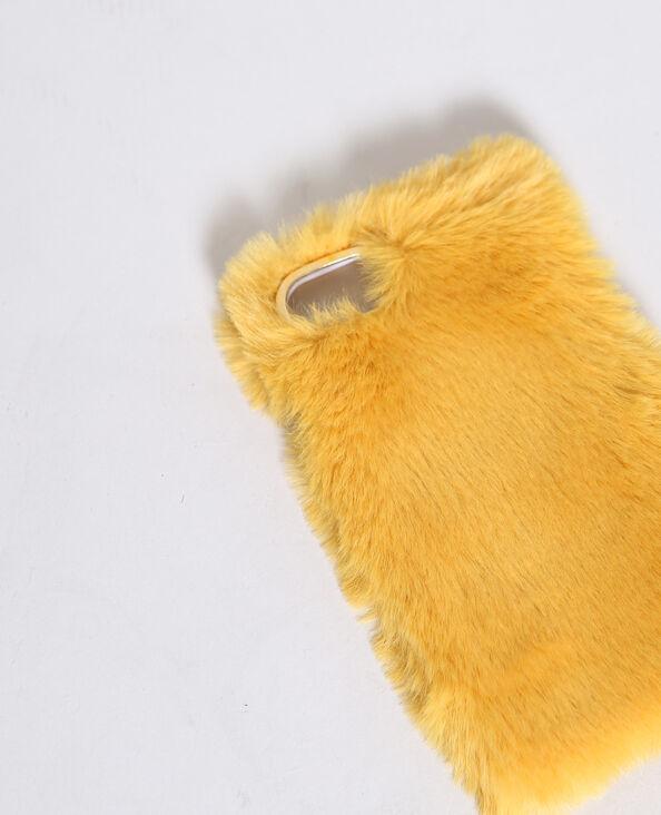 Smartphonehoesje geschikt voor iPhone 6 mosterdbruin