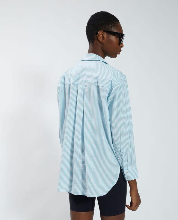 Gestreept hemd blauw - Pimkie