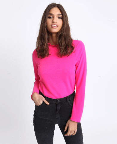 T-shirt fluo rose