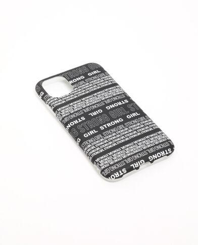 Coque iPhone XR/11 noir
