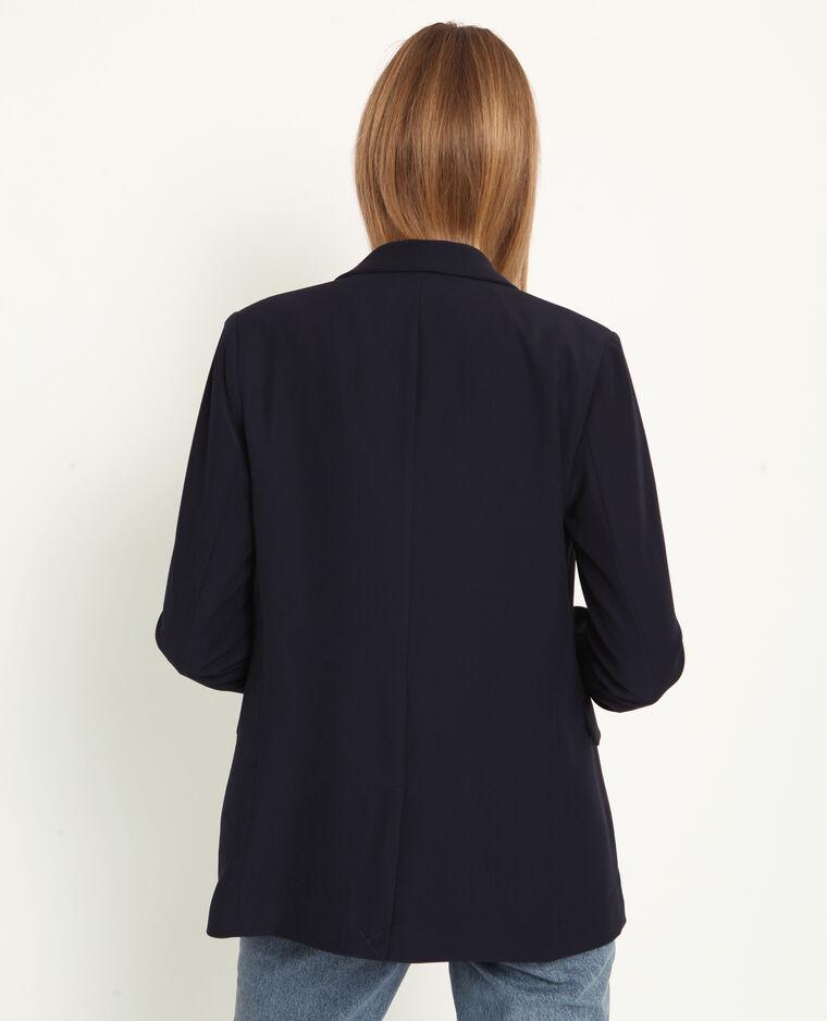 Veste blazer bleu électrique