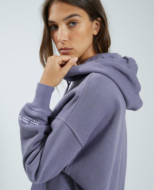 Sweat capuche violet - Pimkie