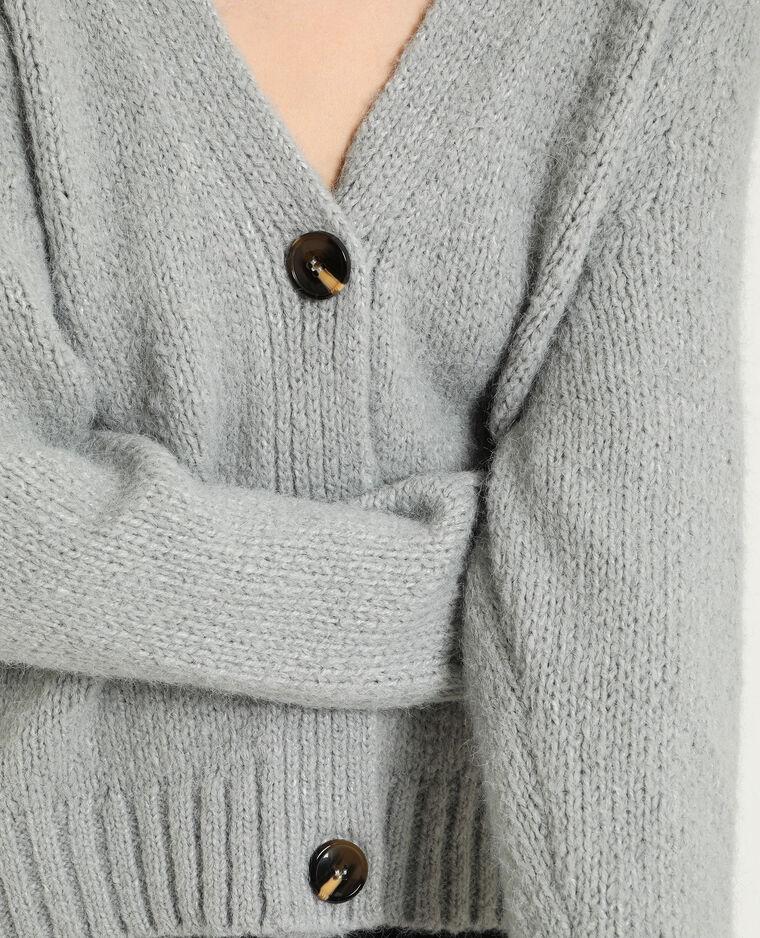 Gilet ample gris - Pimkie
