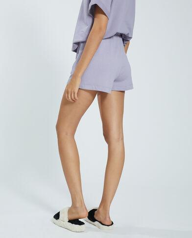 Short in molton violet - Pimkie
