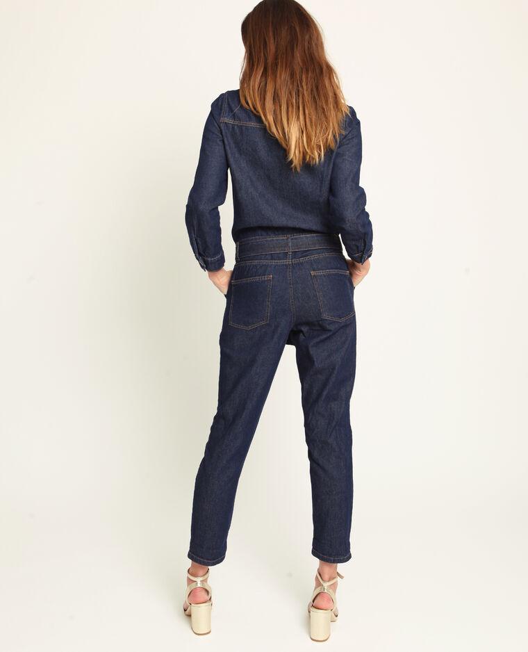 Combinaison en jean bleu