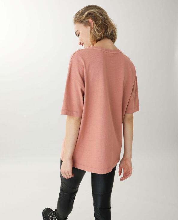 T-shirt met korte mouwen roze - Pimkie