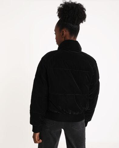 Doudoune épaisse noir