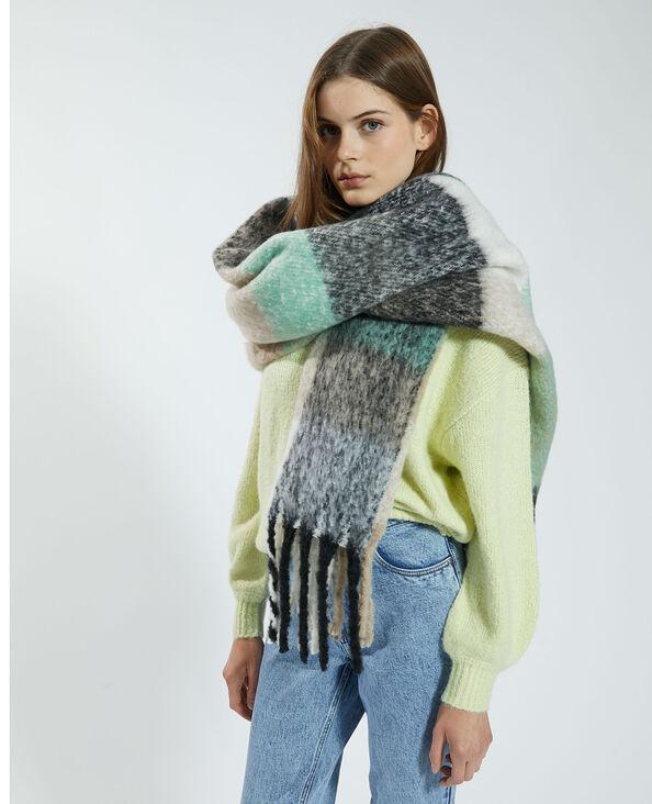 Lange zachte sjaal groen - Pimkie