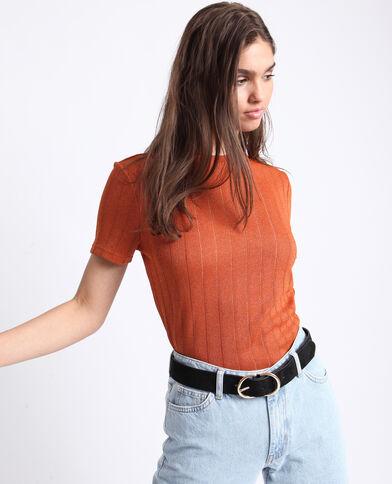 T-shirt brillant orange