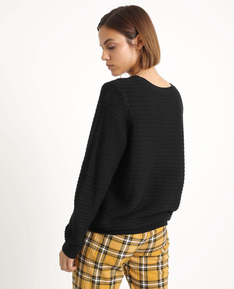 Dikke trui zwart