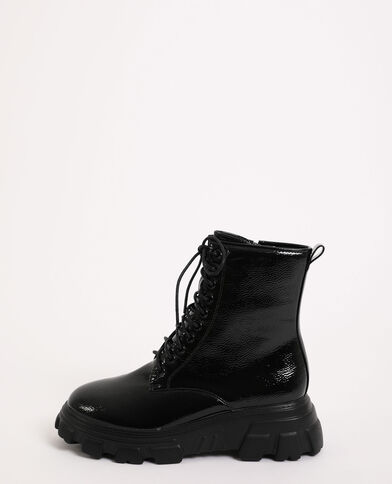 Boots ultra light noir