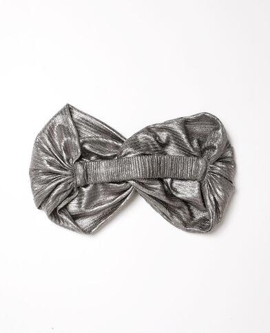 Headband Stéphanie Durant x Pimkie gris argenté