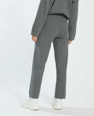 Wide leg broek grijs - Pimkie