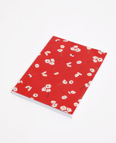 Notebook rood
