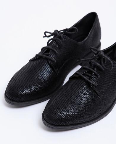 Platte schoenen zwart