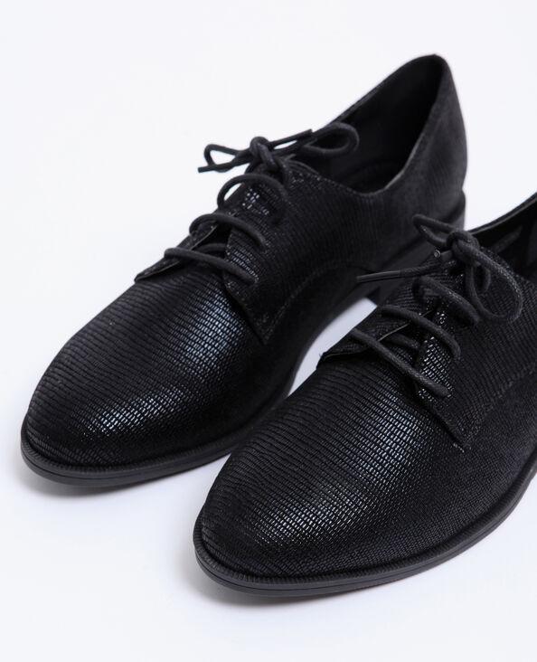 Chaussures plates noir
