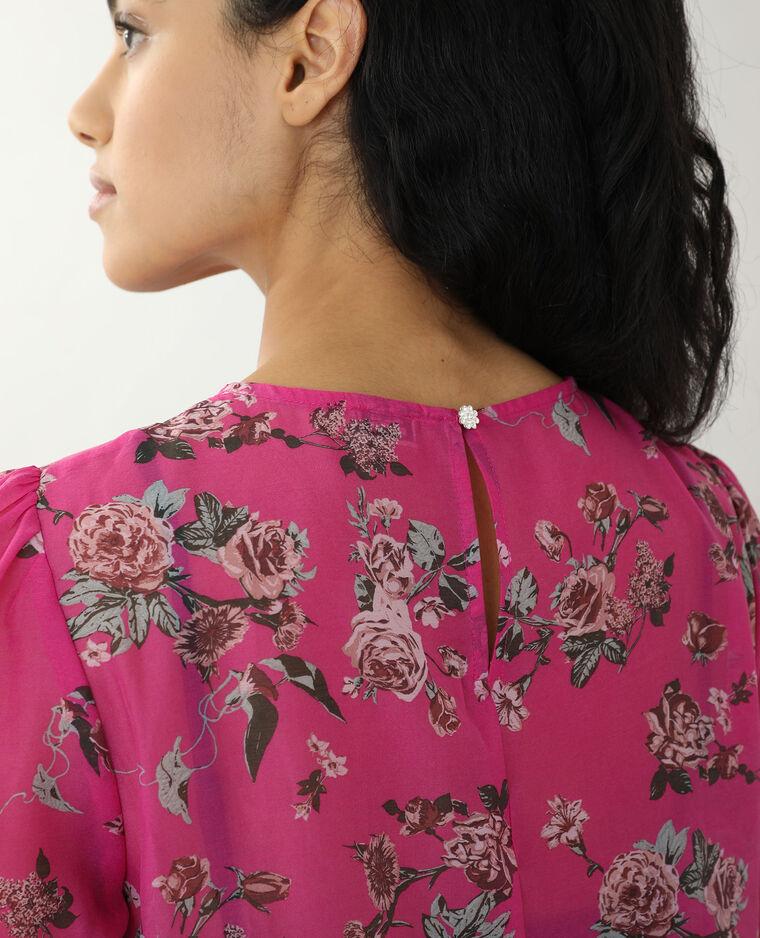 Robe courte rose