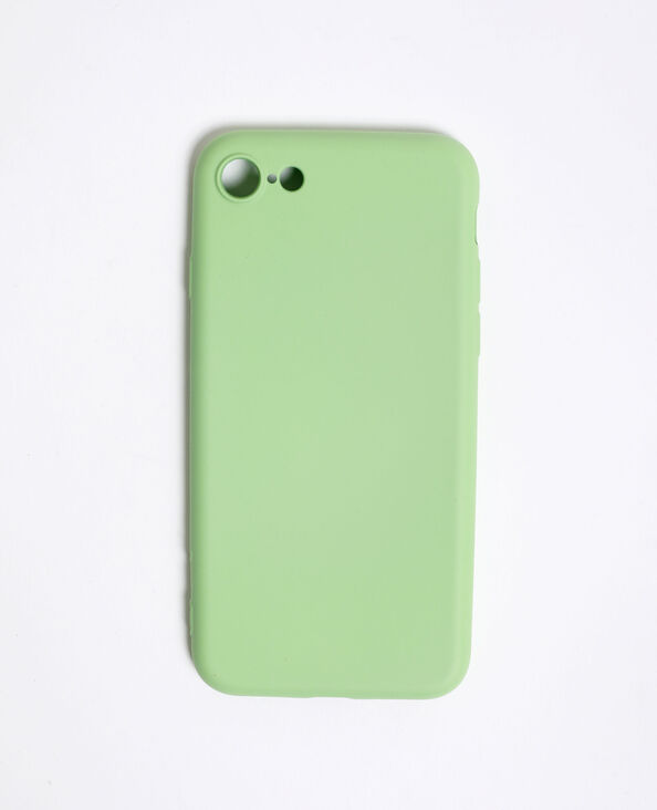 Coque compatible iPhone 7/8 vert pistache