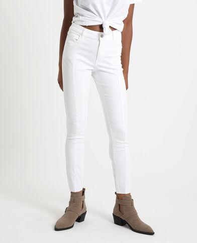 Skinny broek wit