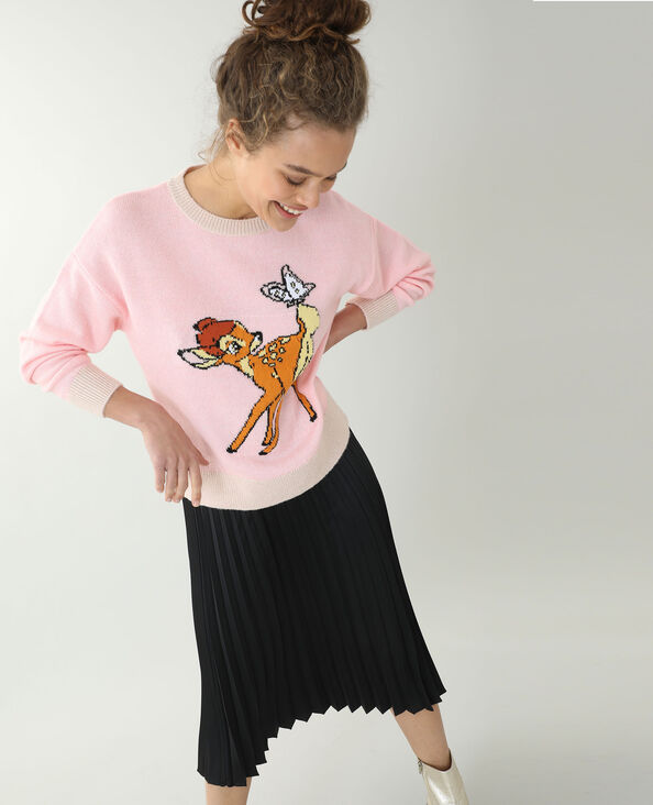 Trui met Bambi roze
