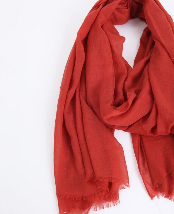 Lichte foulard rood
