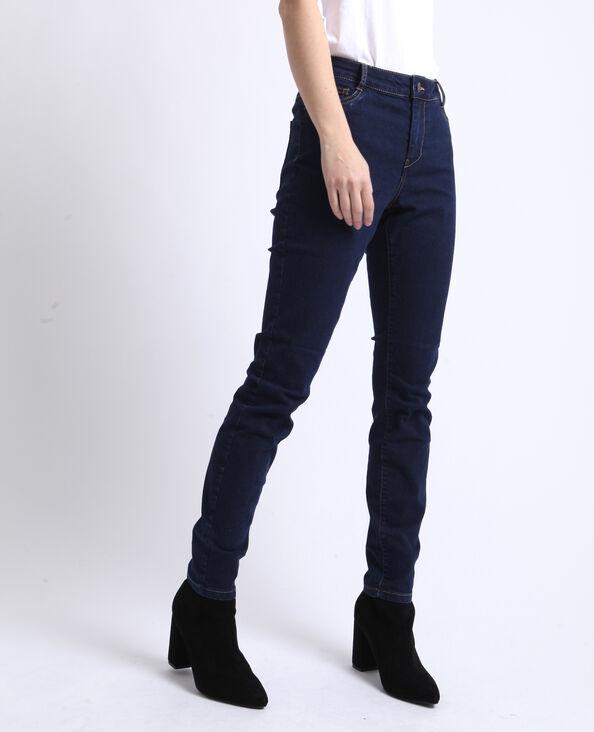 Jegging mid waist bleu