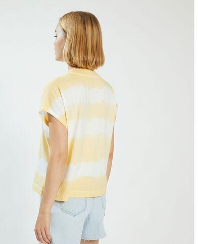T-shirt tie and dye jaune - Pimkie