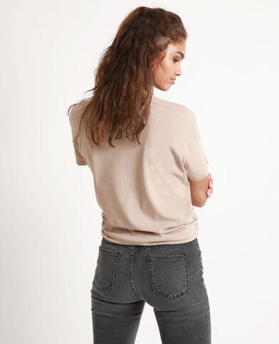 T-shirt Betty Boop brun