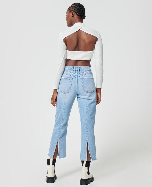 Straight-fit jeans Lichtblauw - Pimkie