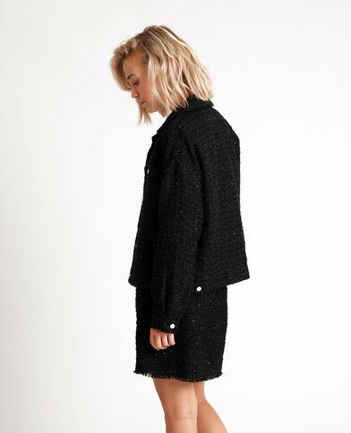 Jasje van tweed zwart