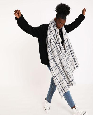 Dunne sjaal blauw