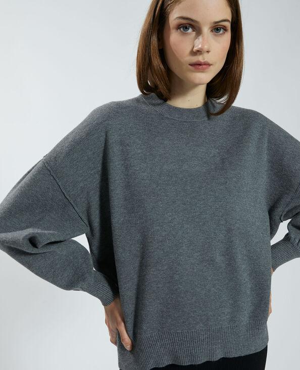 Oversized trui grijs - Pimkie