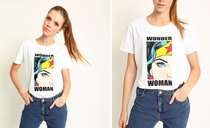 Wonder Woman T-shirt wit