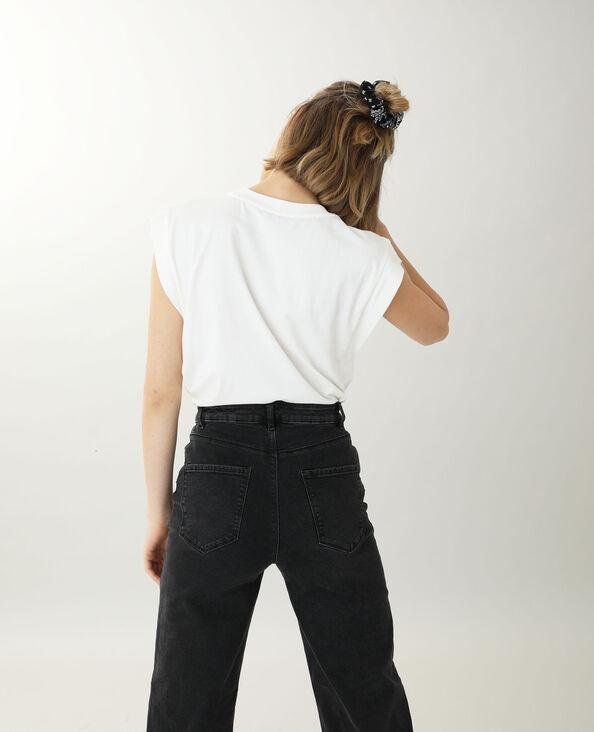 T-shirt sans manche blanc