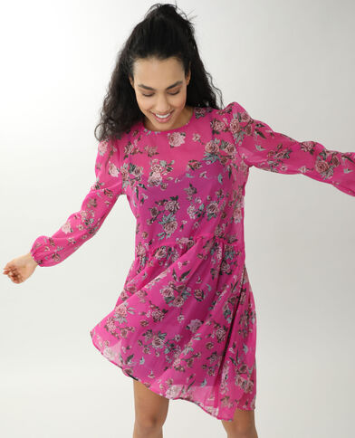 Korte jurk roze